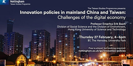 Innovation Policies in Mainland China and Taiwan: Challenges of the Digital tickets