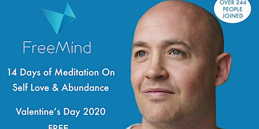 14 Day Online Daily Meditation Challenge on SelfLove & Abundance
