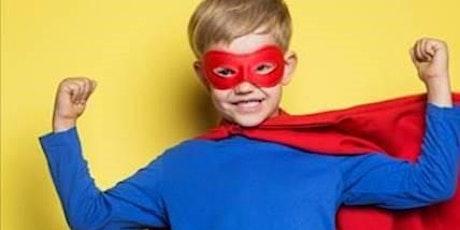 Princess & Superhero's Kids Afternoon Tea tickets
