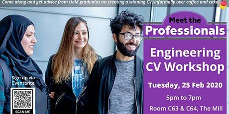 Engineering Meet the Professionals! Alumni panel and CV workshop tickets