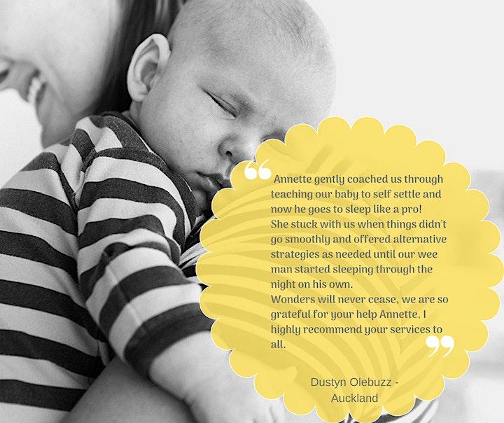 Baby Sleep Workshop  | 0-8 months image