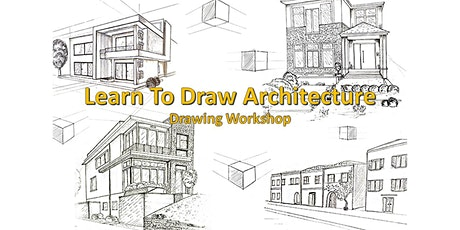 Learn to Draw Perspective, Buildings and Architecture tickets