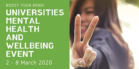Universities Mental Health and Wellbeing event - Medway Campus tickets