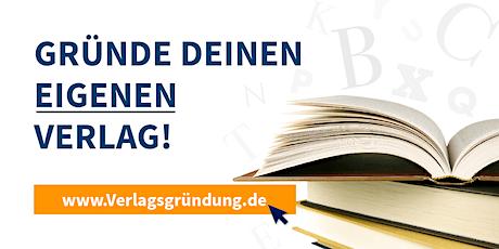 Verlag gründen – Zugang zur Verlegerinnen- & Verleger-Runde Tickets