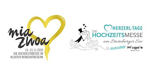 Kombi Ticket Hochzeitsmesse Mia Zwoa und Herzerl-Tage