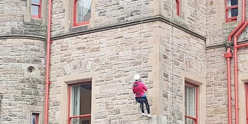 Belfast Castle Abseil