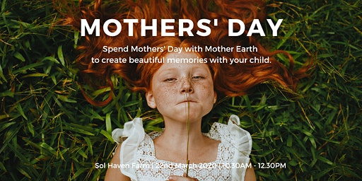 Mothers Day with Mother Earth; Mother and Child Nature Connection Morning