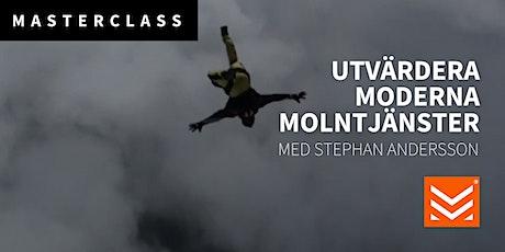 Masterclass: Utvärdera moderna molntjänster biljetter