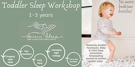 Toddler Sleep Workshop | 1-3 years tickets