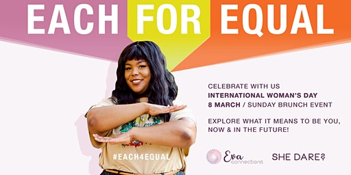 Each for Equal : International Women's Day