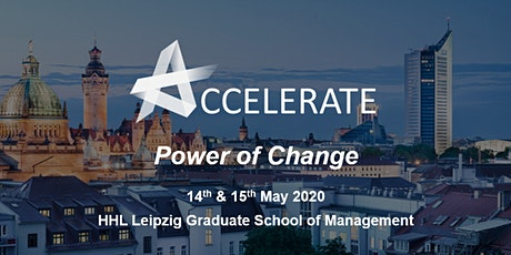 Accelerate@HHL 2020 - Power of Change tickets