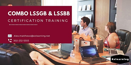 Combo Lean Six Sigma Green & Black Belt Training in Fredericton, NB tickets
