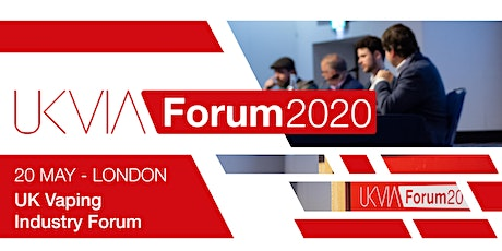 UK Vaping Industry Forum 2020 tickets