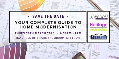 Your Complete Guide to Home Modernisation tickets