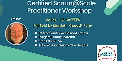 Scrum@Scale Certified Practitioner Workshop by #JeffLopez 22-23 Feb 2020