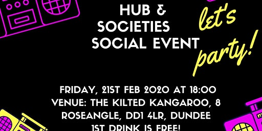 Extractives Hub Social Event