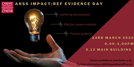 AHSS Impact - REF Evidence Day tickets