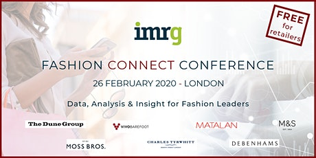 IMRG Fashion Connect Conference 2020 (Retail) tickets