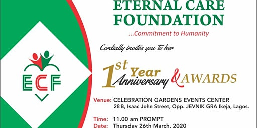 ETERNAL CARE FOUNDATION - FIRST ANNIVERSARY