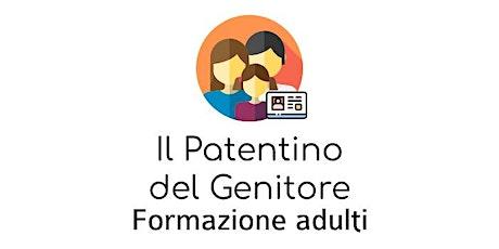 Il Patentino del Genitore - Incontro 4 biglietti