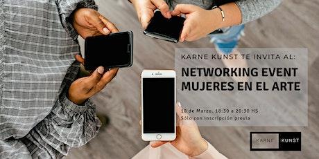 Networking event. Mujeres en el arte. Marzo Tickets