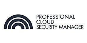 CCC-Professional Cloud Security Manager 3 Days Virtual Live Training in Antwerp