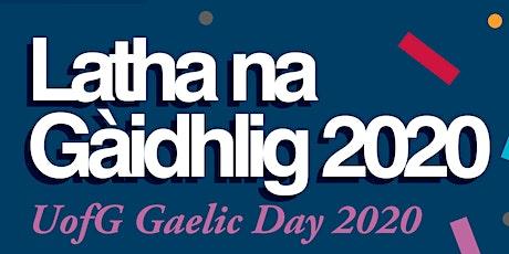 Gàidhlig san Àite-Obrach / Gaelic in the Workplace tickets