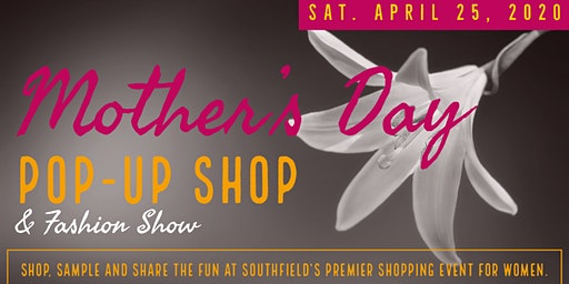 Mother's Day Pop Up Shop