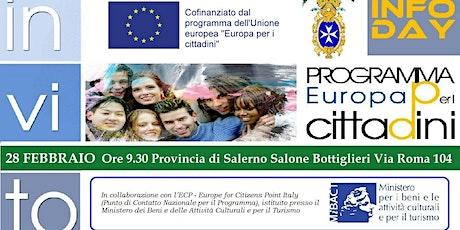 Infoday Europa per i Cittadini tickets