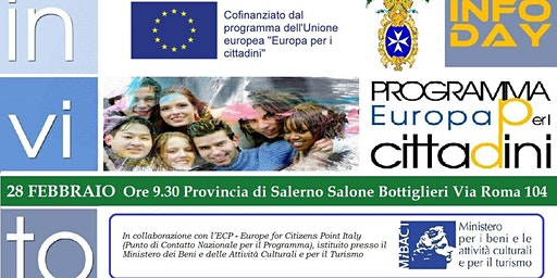 Infoday Europa per i Cittadini