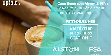 Petit Déjeuner Uptale - Open Stage avec Alstom & PSA billets
