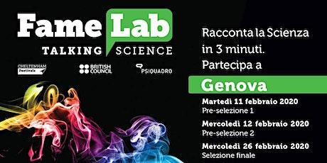 Famelab 2020 - Genova - La finale biglietti