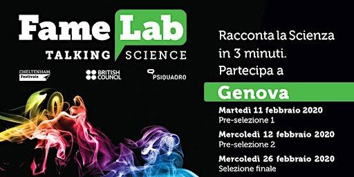 Famelab 2020 - Genova - La finale