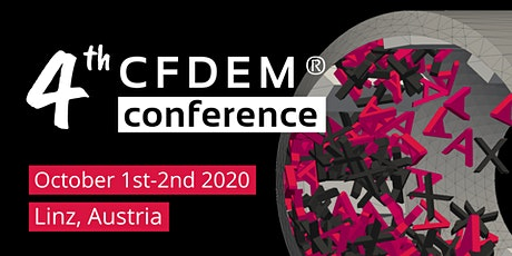 4th CFDEM®conference tickets
