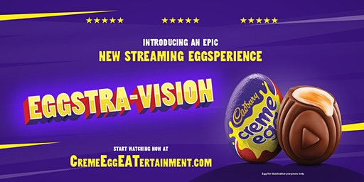 Creme Eggstra-Vision Café