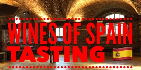 Wines of Spain Tasting tickets
