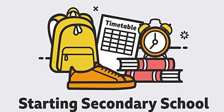 Transitioning to Secondary School tickets