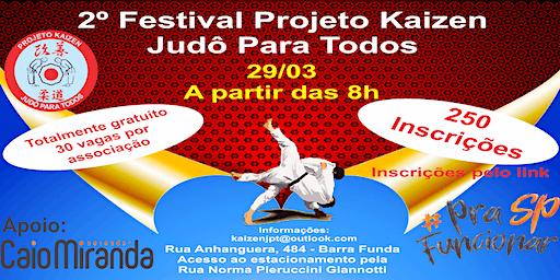 2º Festival Projeto Kaizen Judô Para Todos