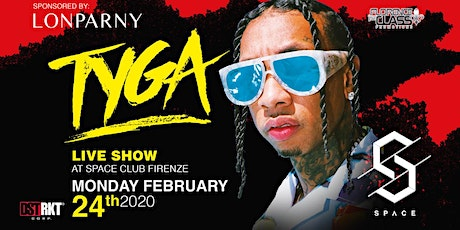 TYGA Live Show @ SPACE CLUB FLORENCE - ALL ✯ STAR MONDAY tickets