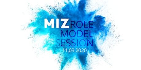 MIZ Role Model Session 3 – neue Werkzeuge für den Journalismus der Zukunft Tickets