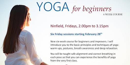 Beginners Yoga Course - 6 sessions