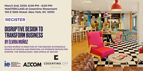 Disruptive Design to Transform Business - New York tickets