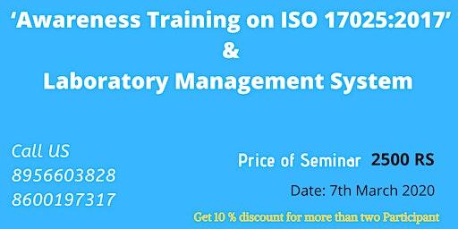 Awareness Training on ISO 17025:2017 & Laboratory Management System