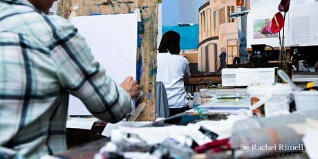 The Conservatoire Open Day - Painting Tech / Illustration Fast Draw (18+) tickets