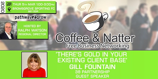 Bromsgrove Coffee & Natter - Free Business Networking Thu 5th March 2020
