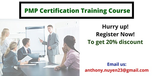 PMP Classroom Training in Placerville, CA