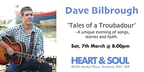 Dave Bilbrough - 'Tales of a Troubadour' tickets