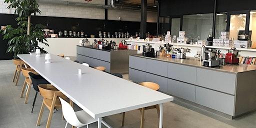 Ontbijtsessie en nieuwe showroom Magimix