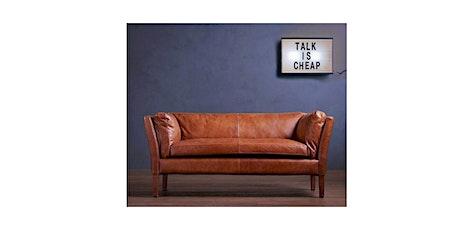 Conversas no sofá bilhetes