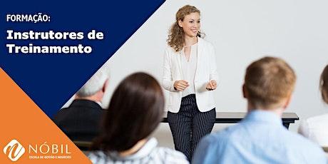 Curso Formação de Instrutores de Treinamento ingressos